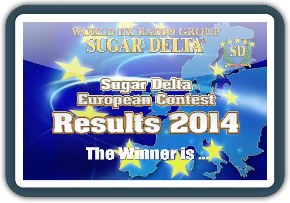 Sugar Delta European Contest 2014 results